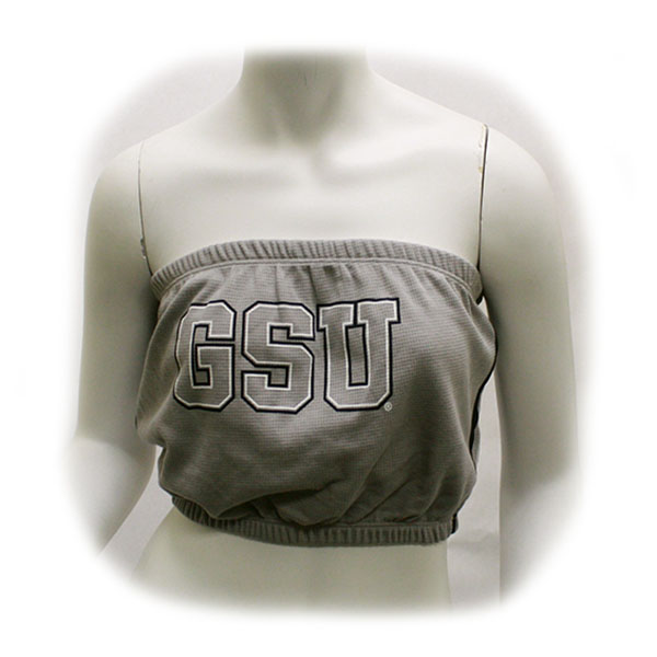Image For Blue84 Gray Ladies GSU Tube Top