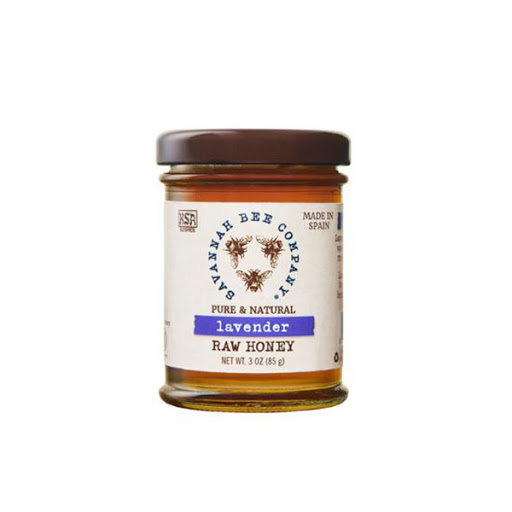 Image For Savannah Bee Company Lavender Raw Honey