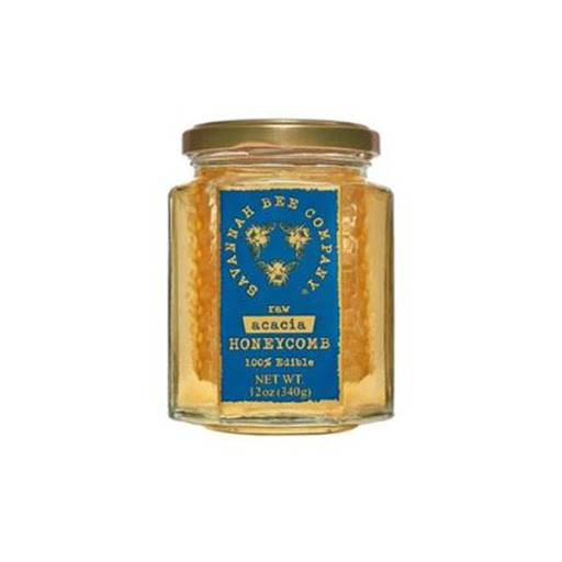 Image For Savannah Bee Company Raw Acacia HoneyComb
