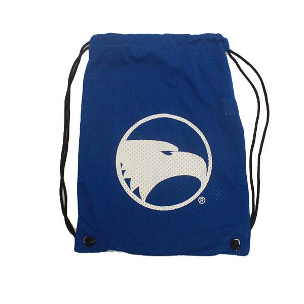 Image For Drawstring Mesh Backpack w/Academic Logo
