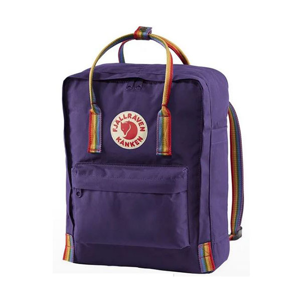 Image For Fjallraven Rainbow Purple Backpack