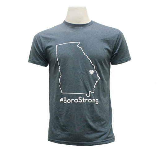 Image For Denim Blue Boro Strong T-Shirt