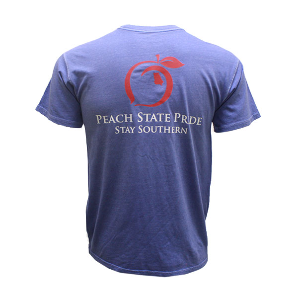 "Image For Peach State Pride T-Shirt ""Stay Southern"""