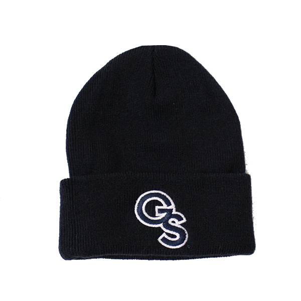 Image For Legacy Navy Youth Beanie w/GS