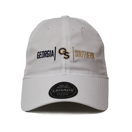 Image For Legacy White GASO Cap w/Gs Logo