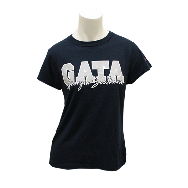 Image For League Navy Ladies GATA T-Shirt