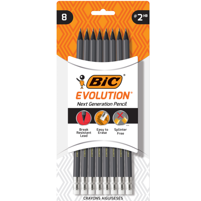Image For BIC Evolution Pencil 8pk