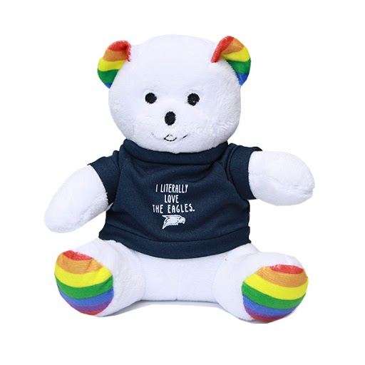 "Image For 6"" Rainbow Bear Pride"