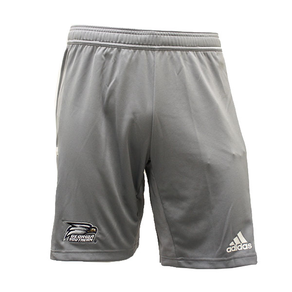 Image For Adidas Gray Jersey Shorts w/ Athletic Logo