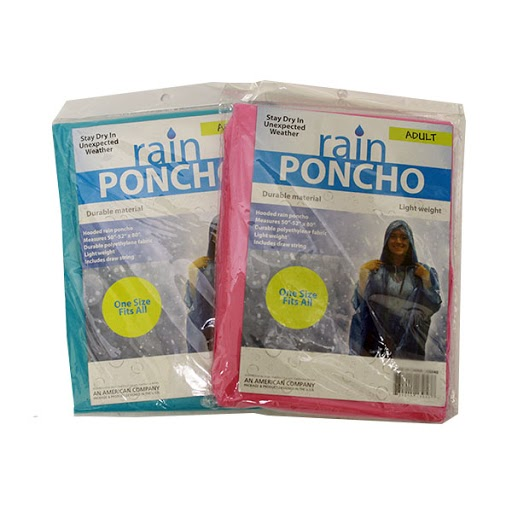 Image For Adult Rain Poncho