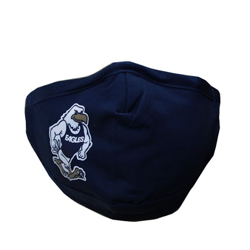 Image For Navy Youth Gus Face Mask