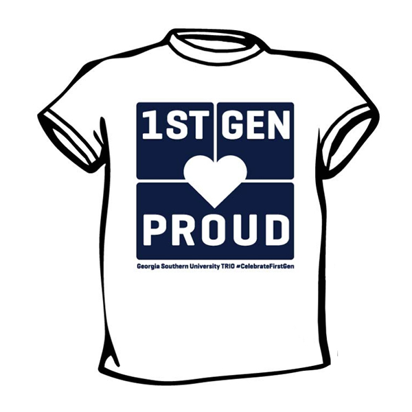"Cover Image For 1Pre-Orders ""1st Generation College Students"" White T-shirt"