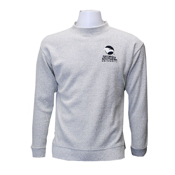Image For Gray GASO Knit Crew w/Academic Logo