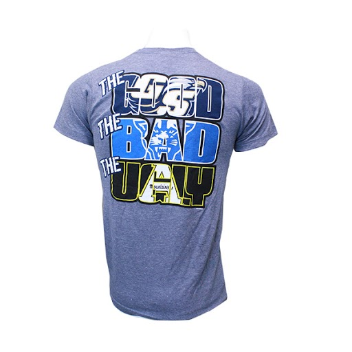 "Image For Blue ""The Good, Bad & Ugly"" GASO T-Shirt w/Athletic Logo"