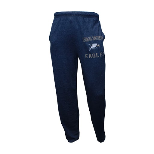 Image For Navy GASO Sweatpants w/ Eagle Head/Eagles logo