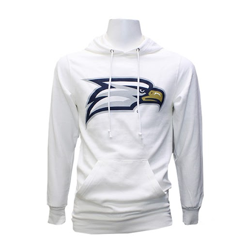 Image For MV Sport White Hoodie w/ Eagle Head logo