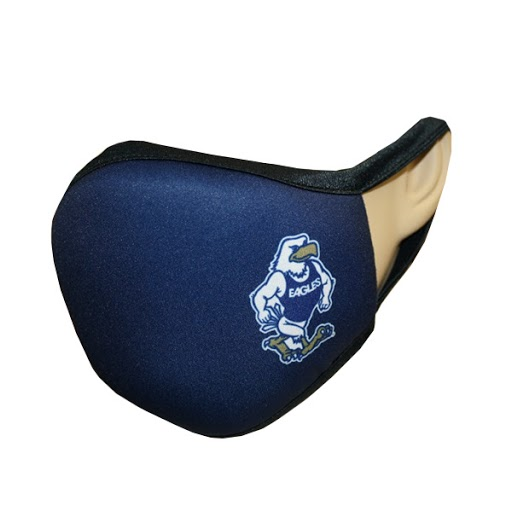 Image For Navy Gus Facemask w/ Strutting Gus logo