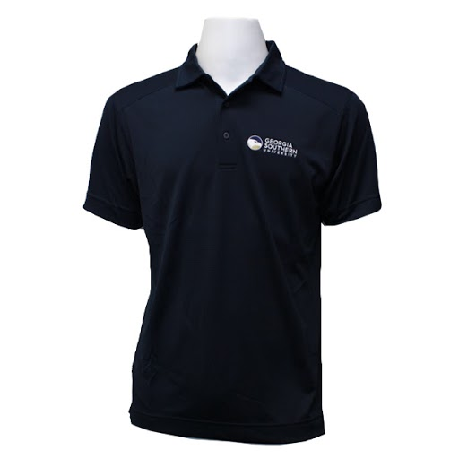 Image For Cutter and Buck Navy GASO Polo w/Academic logo