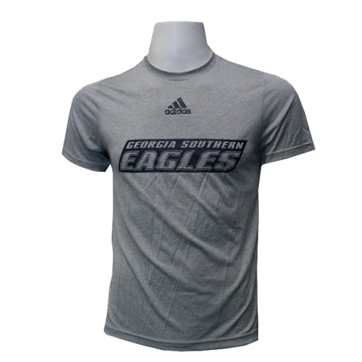 Image For Adidas Gray GASO Eagles T-shirt