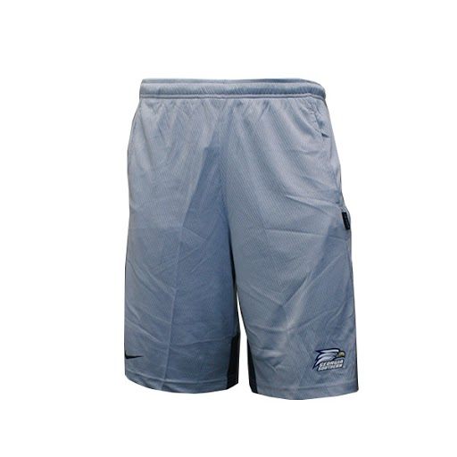 Image For Nike Gray and Dark Gray Gym Shorts w/Athletic logo