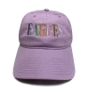 Cover Image for Creamsicle Cap with Multicolor Embroidered Eagles