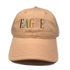 Cover Image for Purple Cap with Multicolor Embroidered Eagles