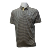 Cover Image for Divots Navy/White Striped Polo w/Embroidered Athletic logo